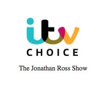Scoop: THE JONATHAN ROSS SHOW on ITV - Sunday, October 15, 2017