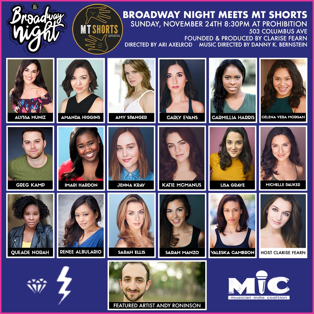 Broadway Night WillHost MT Shorts to Celebrate the Release of New Musical Short Film JUMP