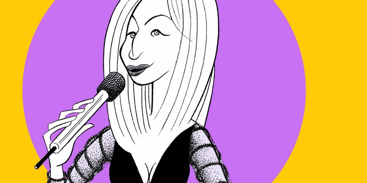 BWW Exclusive: Ken Fallin Draws the Stage - Barbra Streisand