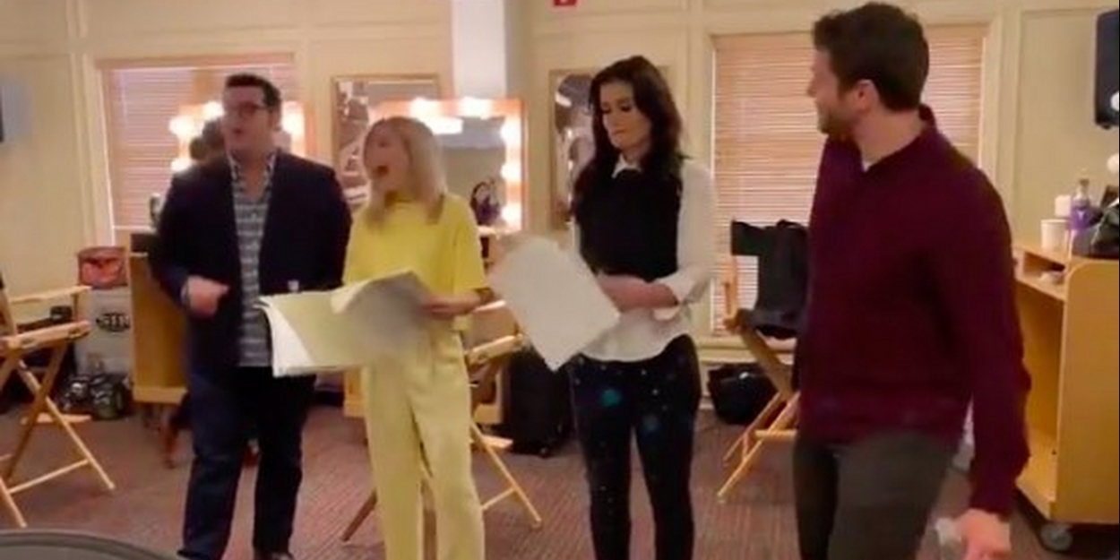 VIDEO: Idina Menzel, Kristen Bell, Jonathan Groff, and Josh Gad Rehearse 'Some Things Never Change' From FROZEN 2