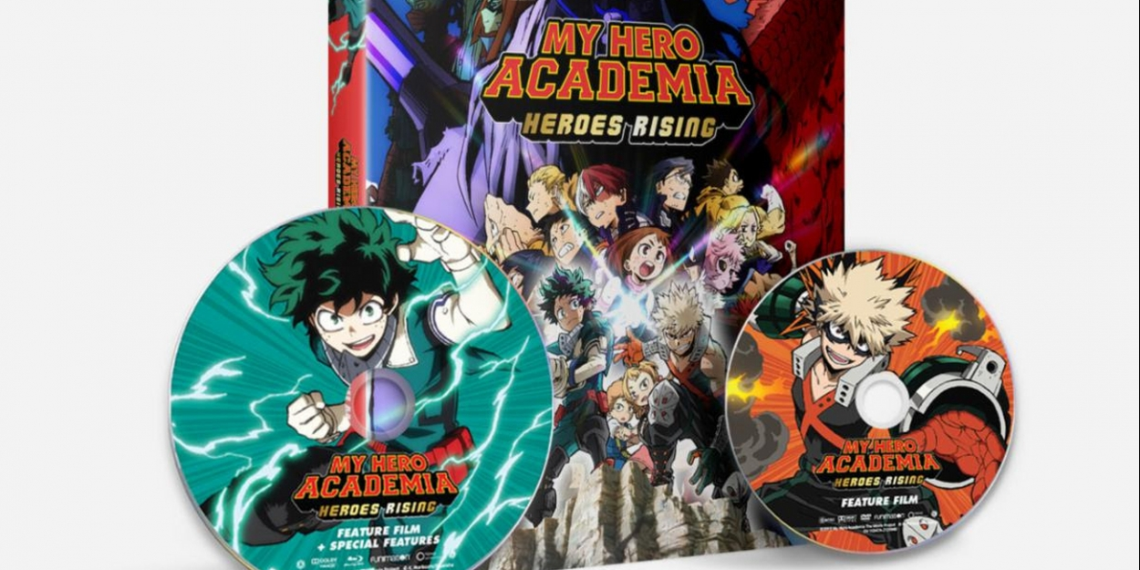 My Hero Academia Heroes Rising Available On Digital Dvd Oct 27