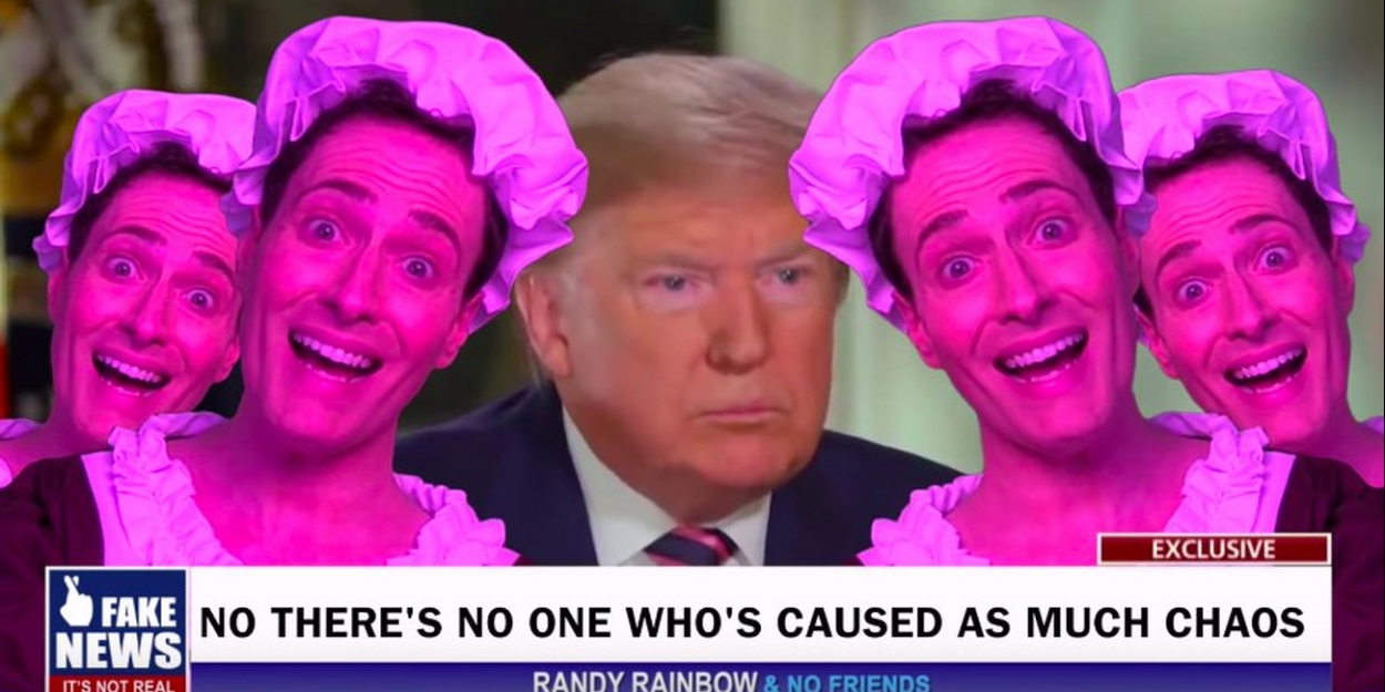 VIDEO: Watch Randy Rainbow's Latest Political Song Parody, 'That Don!'