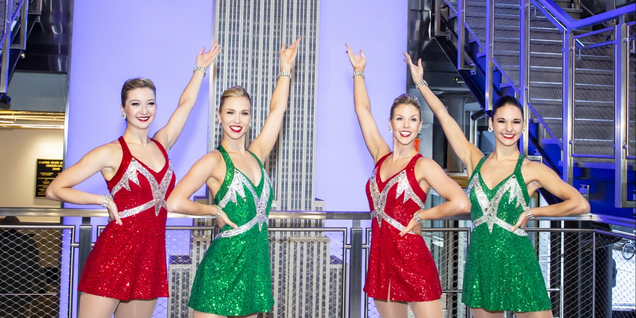 Photo Flash: Rockettes Light the Empire State Building for Opening of 2019 CHRISTMAS SPECTACULAR STARRING THE RADIO CITY ROCKETTES