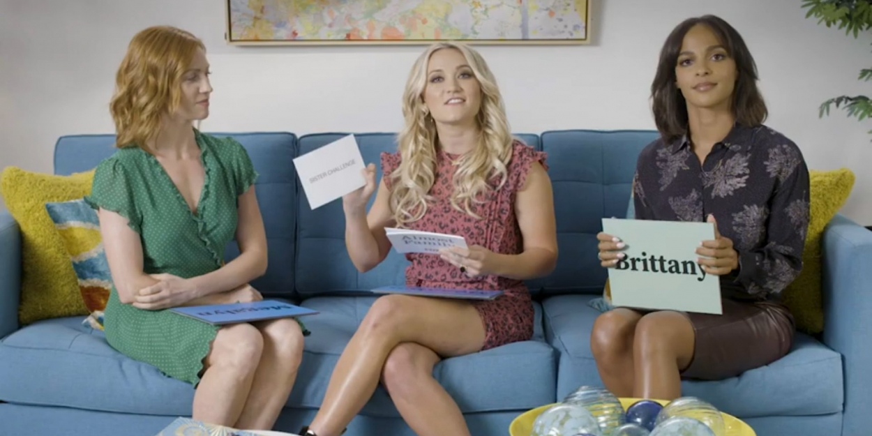 video  watch the stars of almost family play the sister
