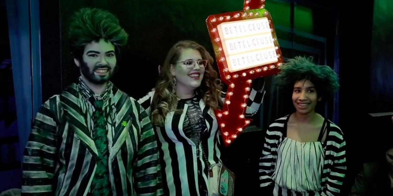 Video Beetlejuice Holds Halloween Costume Contest