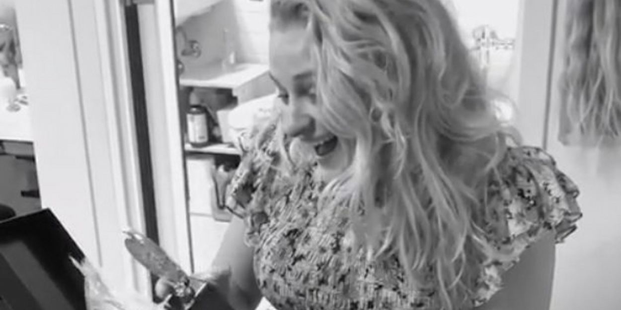 VIDEO: OKLAHOMA!'s Ali Stroker Sees Her Engraved Tony Award For The First Time