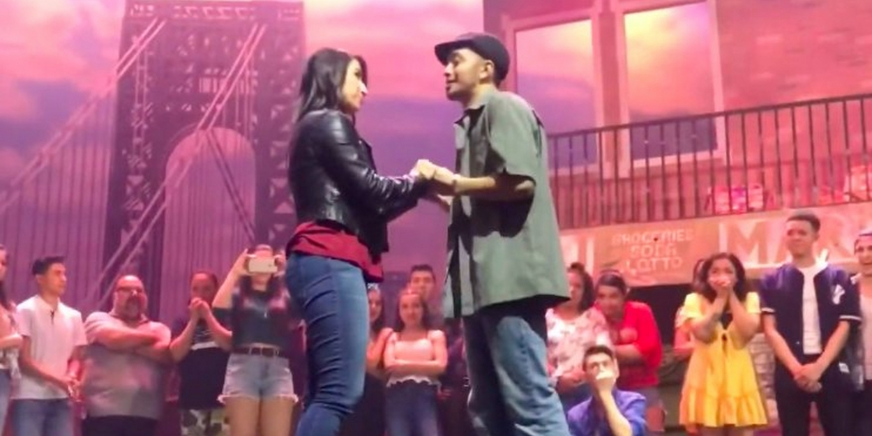 VIDEO: Actor in IN THE HEIGHTS in San Bernardino, CA Proposes to Girlfriend on Stage