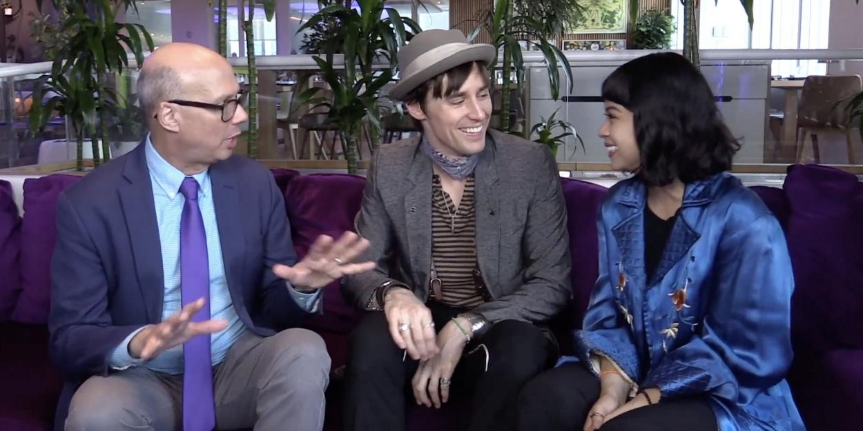 BWW TV: Livin' It Up with HADESTOWN Stars Eva Noblezada & Reeve Carney