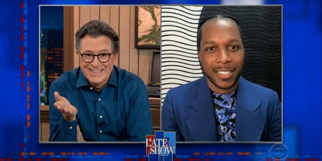 VIDEO: Leslie Odom Jr. Talks Sam Cooke on THE LATE SHOW ...
