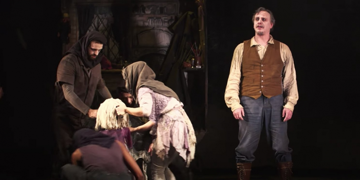 VIDEO: Watch Bristol Old Vic's THE GRINNING MAN, Streaming Now!