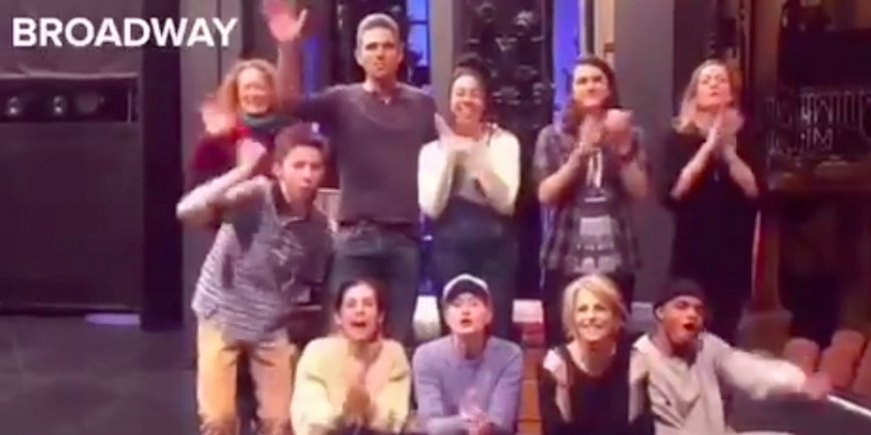 VIDEO: DEAR EVAN HANSEN Broadway and Tour Casts Congratulate West End Cast on Opening Night
