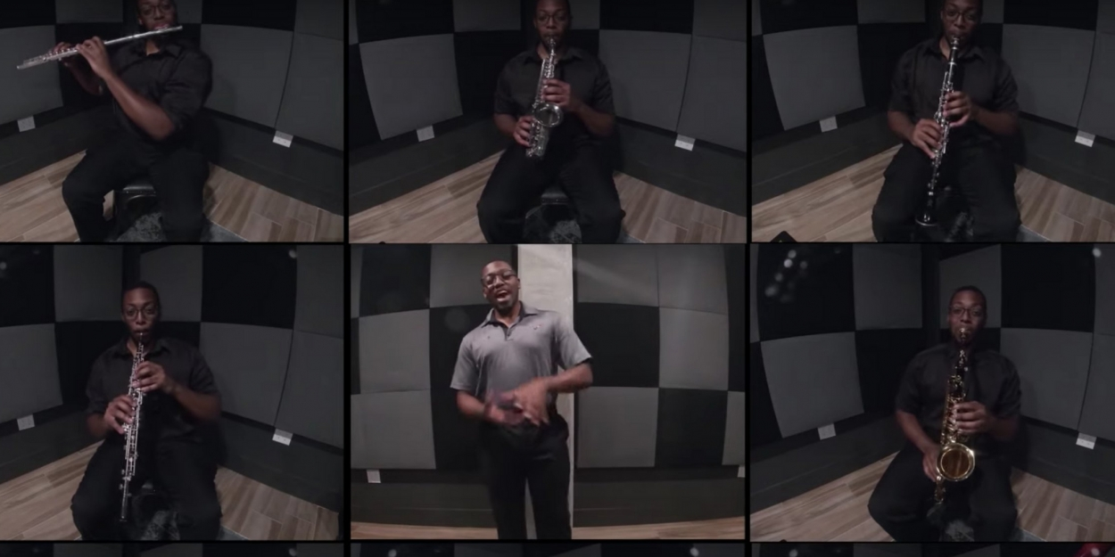 VIDEO: Ricky David Anthony Roshell Performs 'Penny in My Pocket' From HELLO, DOLLY! on Woodwinds