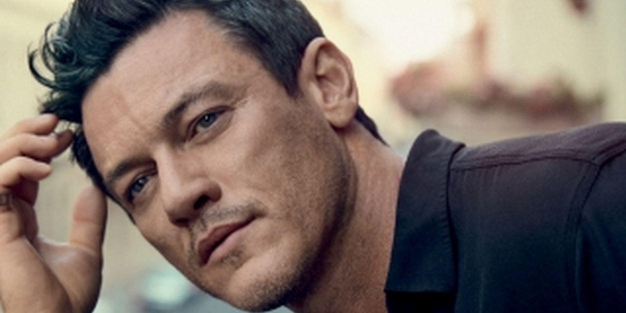 Luke Evans to Release Debut Album Featuring Covers of Cher, LES MIS, and More!