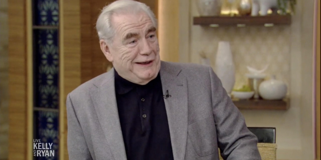 VIDEO: SUCCESSION's Brian Cox Talks Playing LBJ on Broadway on LIVE WITH KELLY AND RYAN
