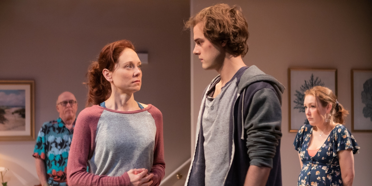 Photo Flash: First Look at EASY WOMEN SMOKING LOOSE CIGARETTES at Signature Theatre