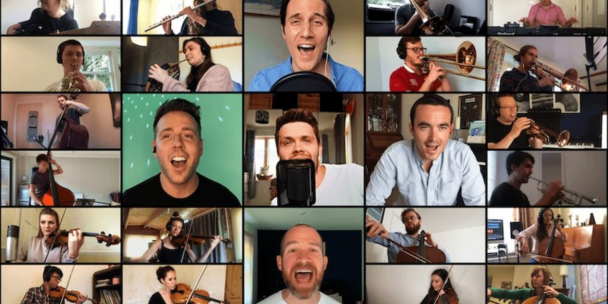 BWW EXCLUSIVE: Watch The West End Men Sing 'Defying Gravity'