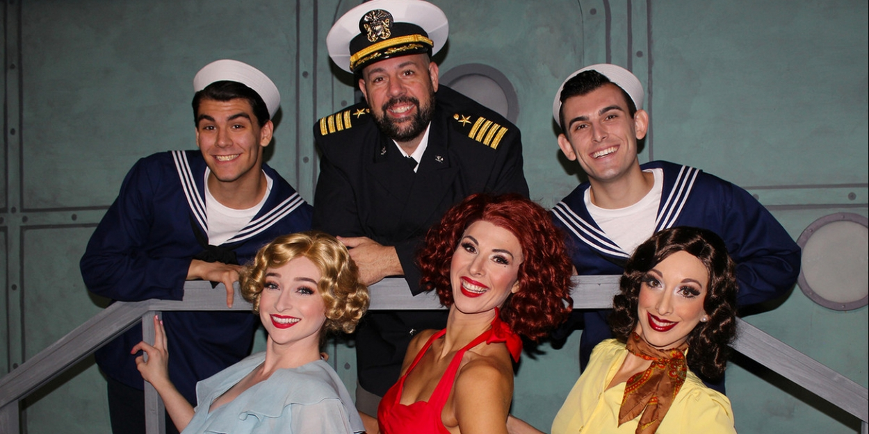 The Off Broadway Palm Presents The Tap-Happy DAMES AT SEA!
