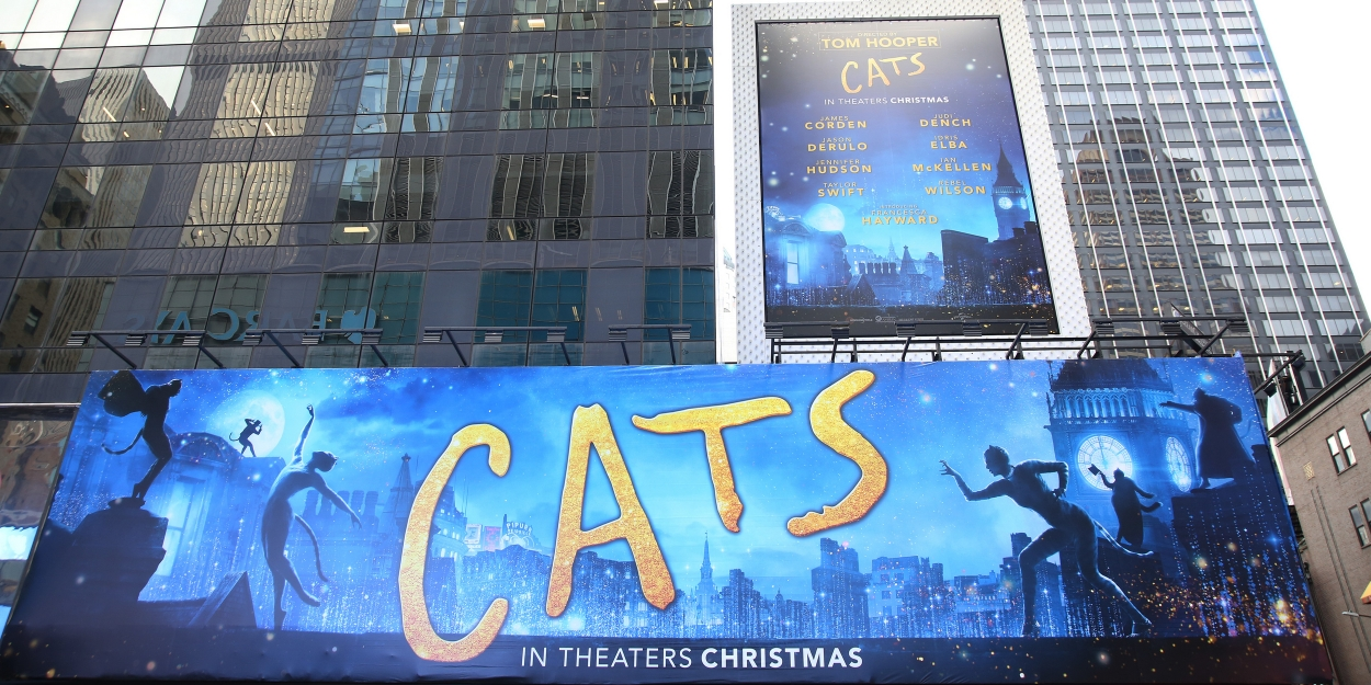 Photo Coverage: CATS Billboard Takes Over Times Square