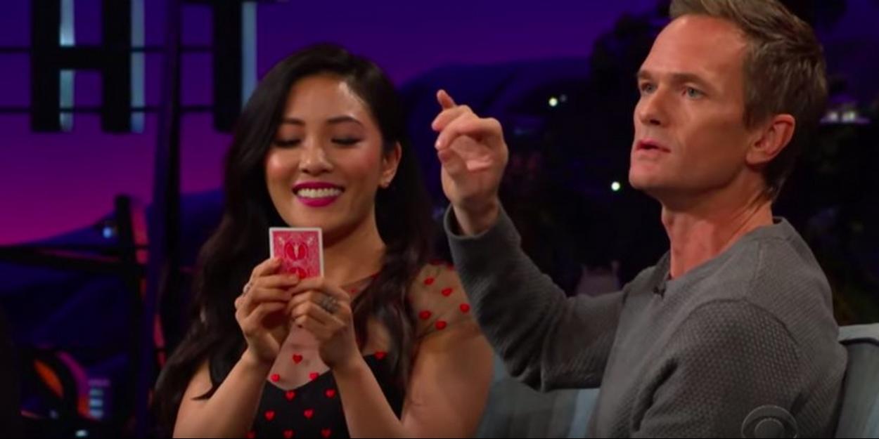 VIDEO: Neil Patrick Harris Shows James Corden a Slight of Hand Card Trick