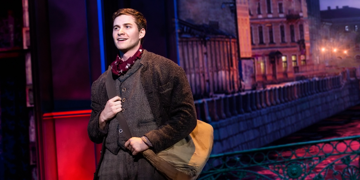 Photo Flash: First Look at Jake Levy as Dmitry in the National Tour of ANASTASIA