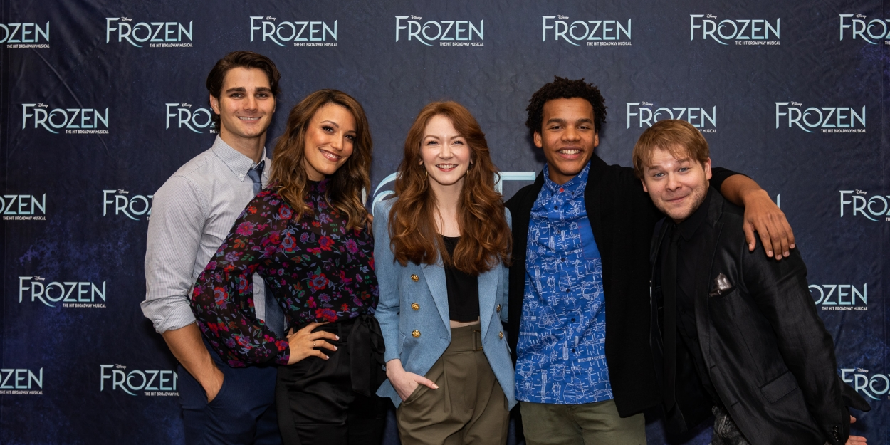 Photo Coverage: FROZEN's First National Tour Gets Read to Hit the Road!