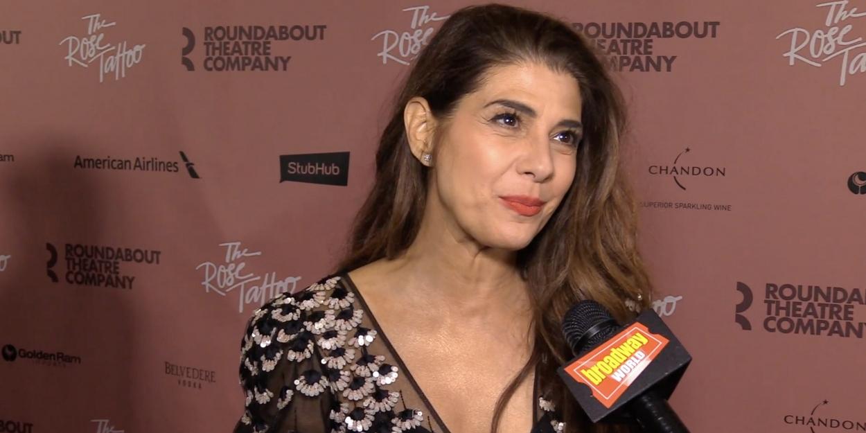 BWW TV: Marisa Tomei & Company Celebrate Opening Night of THE ROSE TATTOO