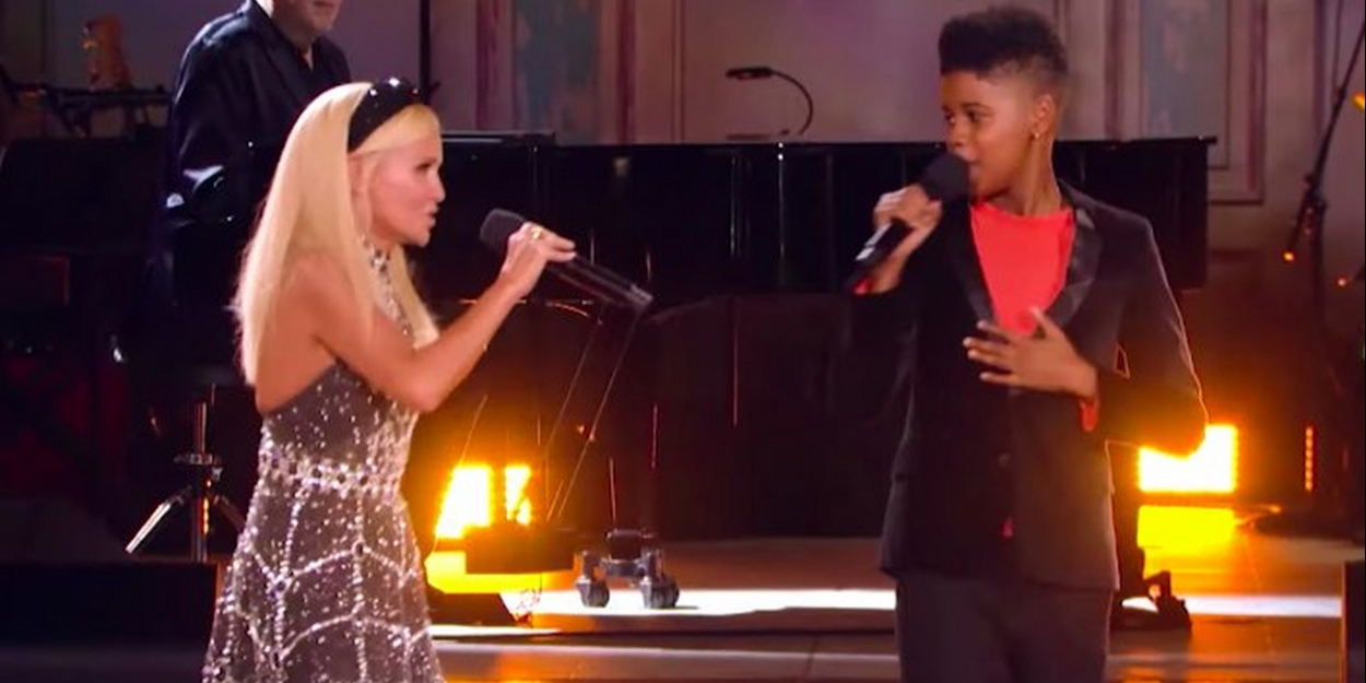 VIDEO: Kristin Chenoweth and JD McCrary Sing 'For Good' at the 31 Nights of Halloween Fan Fest
