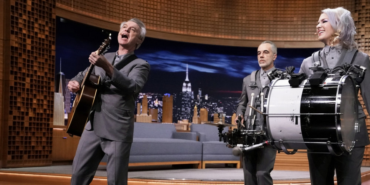 VIDEO: DAVID BYRNE'S AMERICAN UTOPIA Performs 'Road to Nowhere' on THE TONIGHT SHOW
