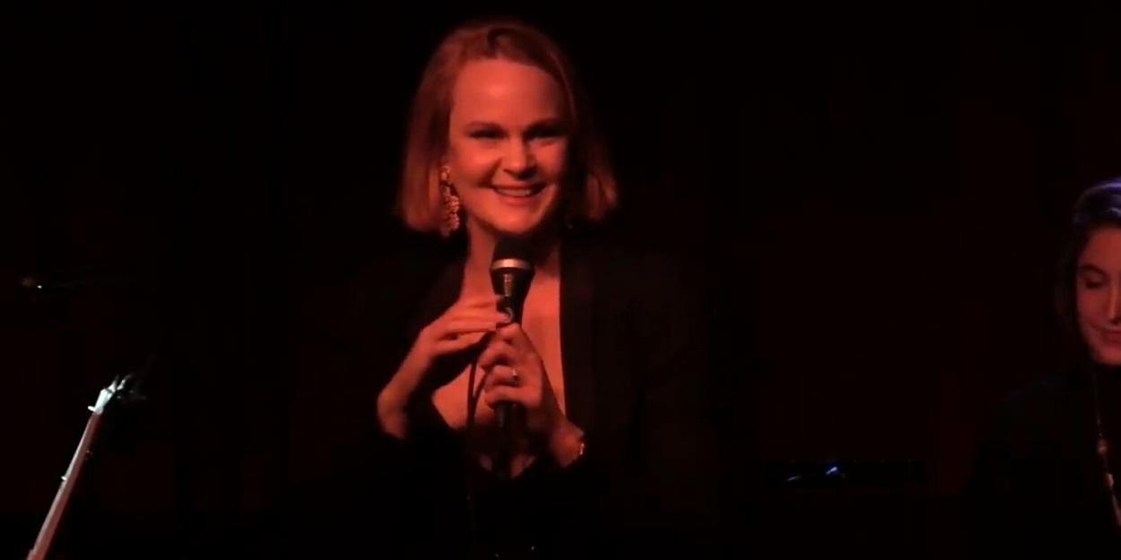 VIDEO: Kate Baldwin Sings 'Something That You Do' By Georgia Stitt at Birdland
