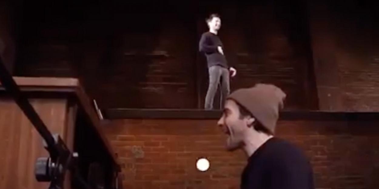 VIDEO: Jake Gyllenhaal and Tom Sturridge Jam Backstage at SEA WALL/A LIFE!