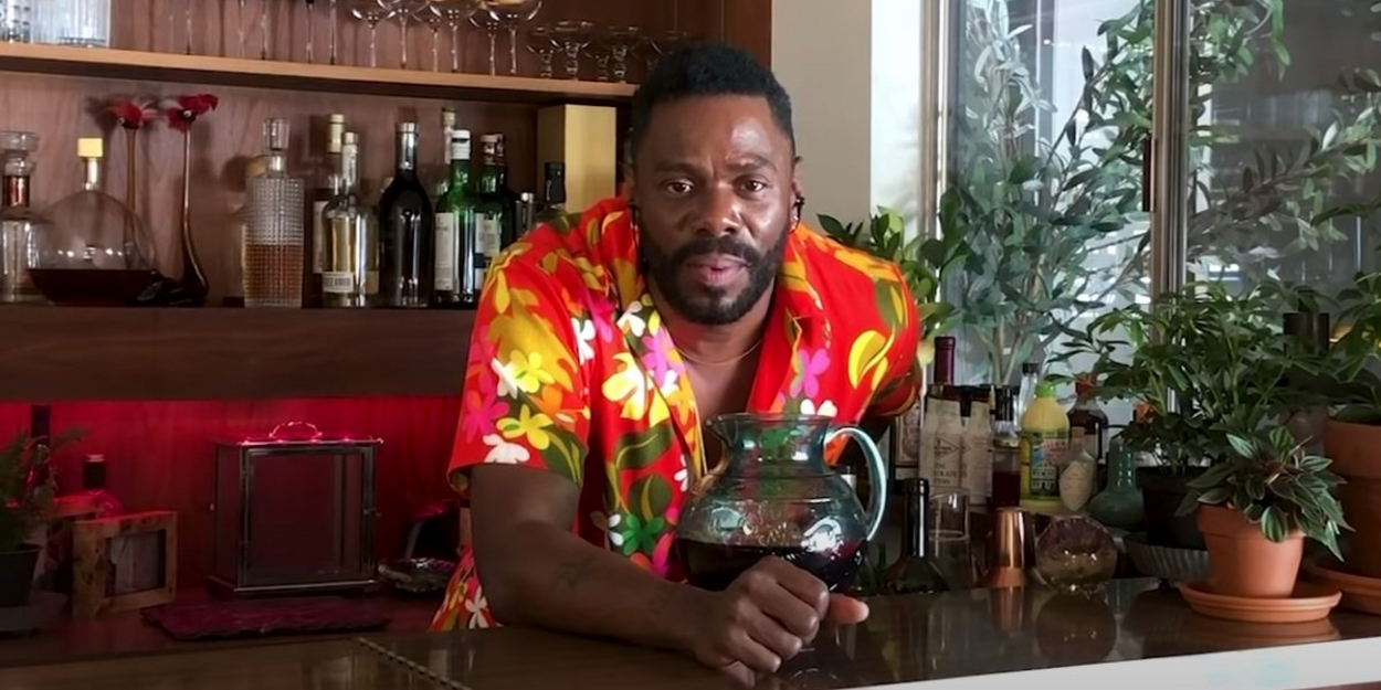 VIDEO: Colman Domingo Makes Sangria and Hangs With Common and Yahya in New Episode of BOTTOMLESS BRUNCH AT COLMAN'S