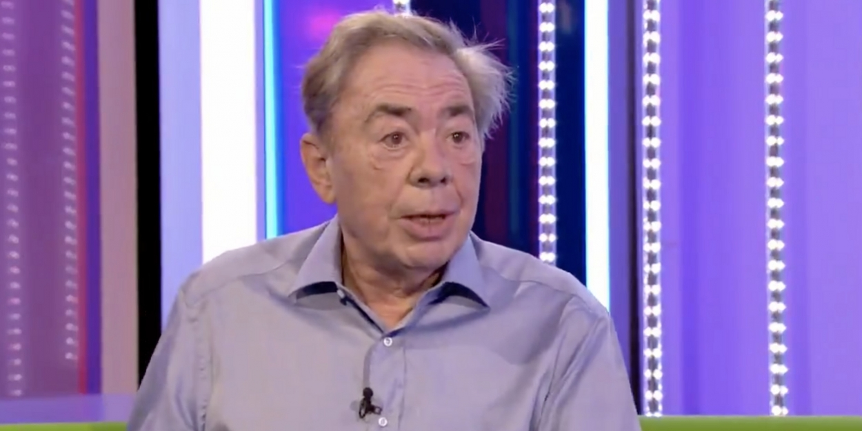 VIDEO: Andrew Lloyd Webber Weighs in on the Return of Live Theatre and When CINDERELLA Might Open