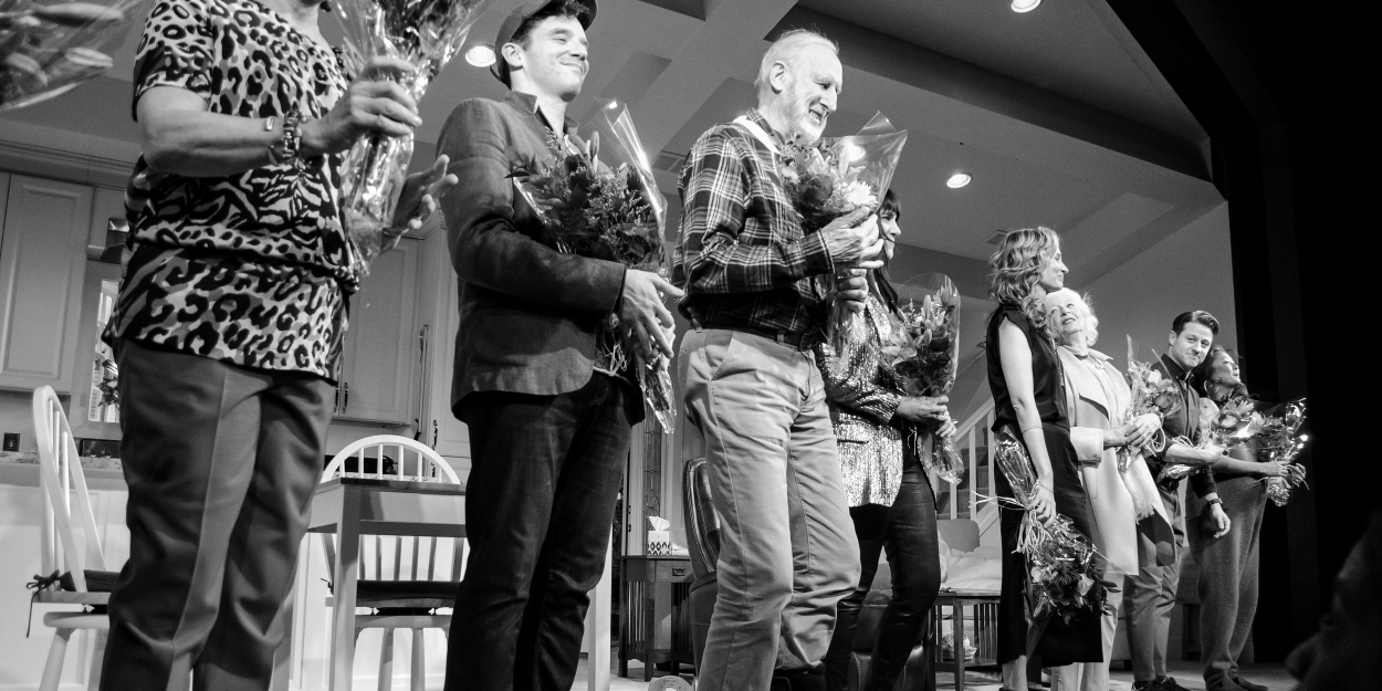 Photo Coverage: GRAND HORIZONS Cast Takes Opening Night Bows!