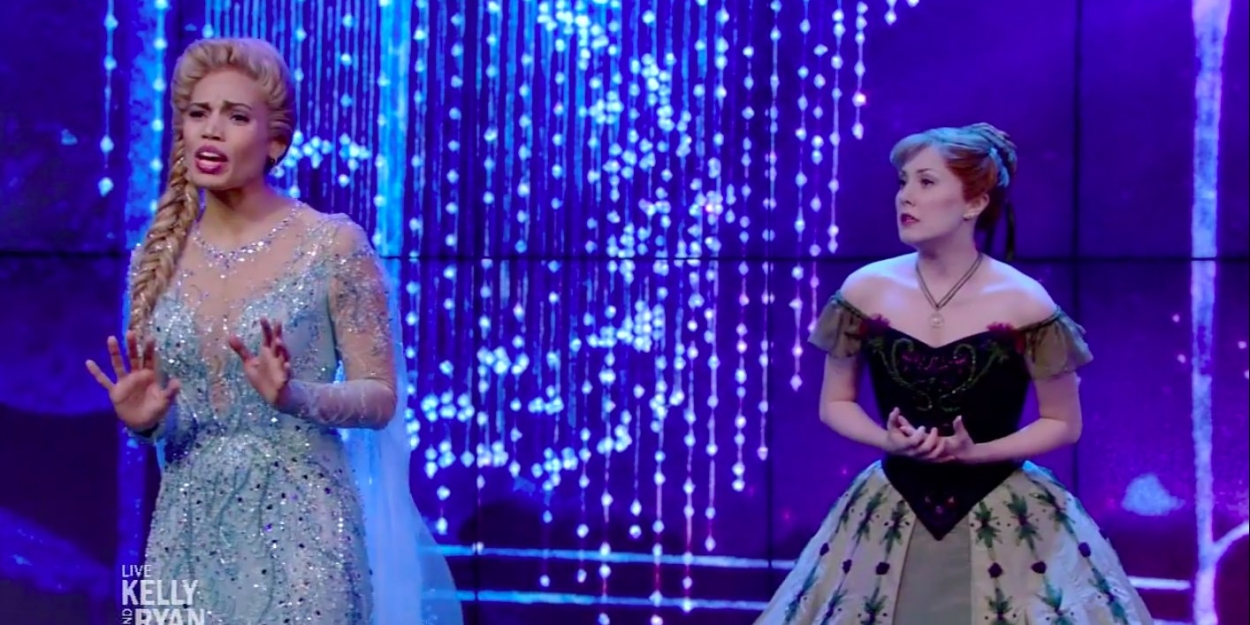 VIDEO: See FROZEN's McKenzie Kurtz and Ciara Renee Perform the Television Debut of 'I Can't Lose You'