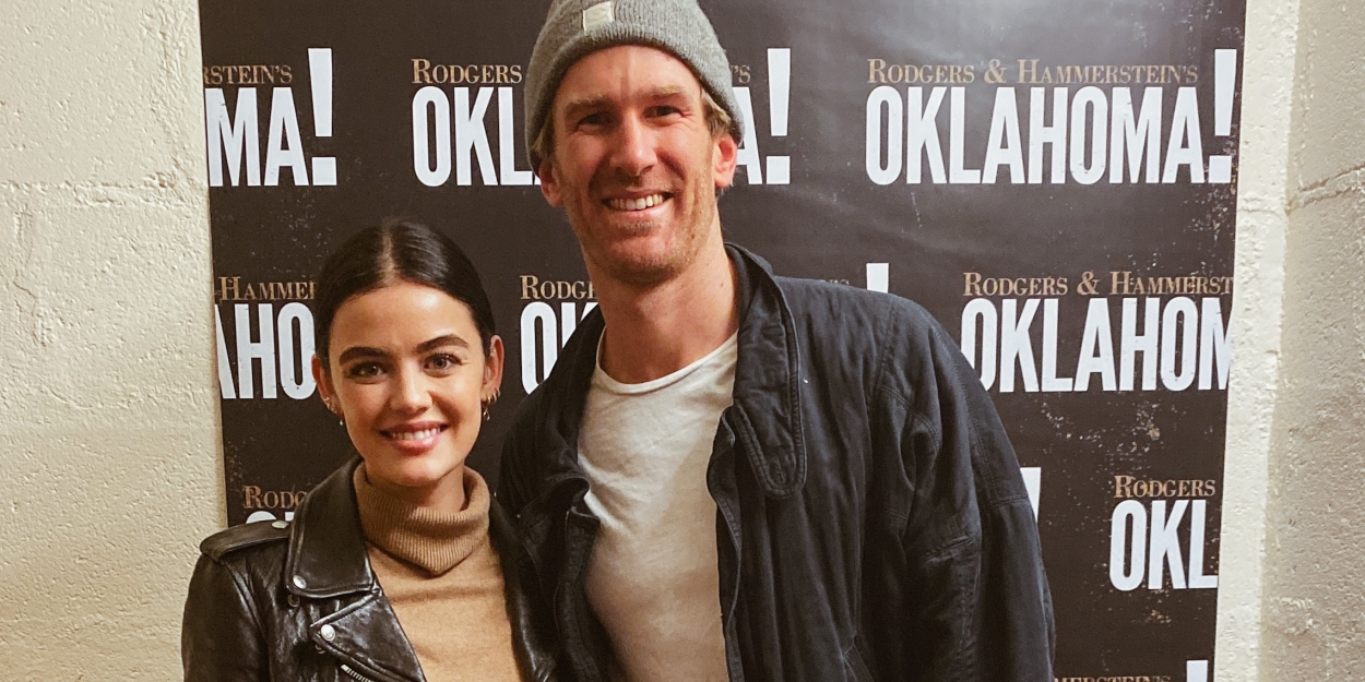 Photo Flash: Lucy Hale Visits OKLAHOMA!