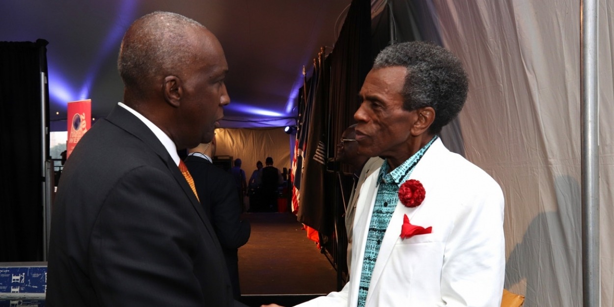 Photo Flash: Andre De Shields Receives Certificate Of Recognition From The New York City Mayor's Office and Harlem Week Pride 50 Award