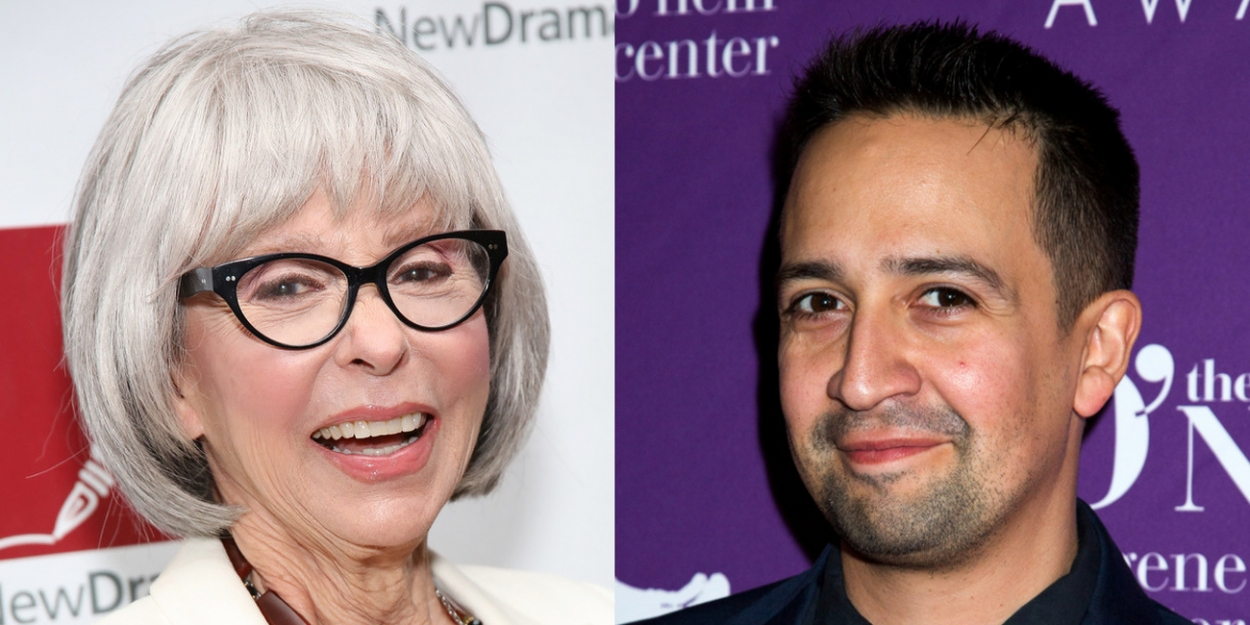 Lin-Manuel Miranda, Norman Lear Partner on New Documentary About Rita Moreno