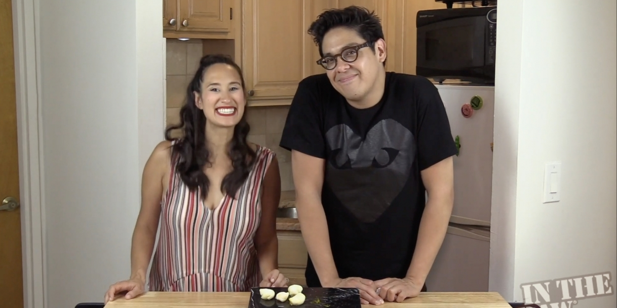 Backstage Bite with Katie Lynch: George Salazar Chills Out with Mochi!