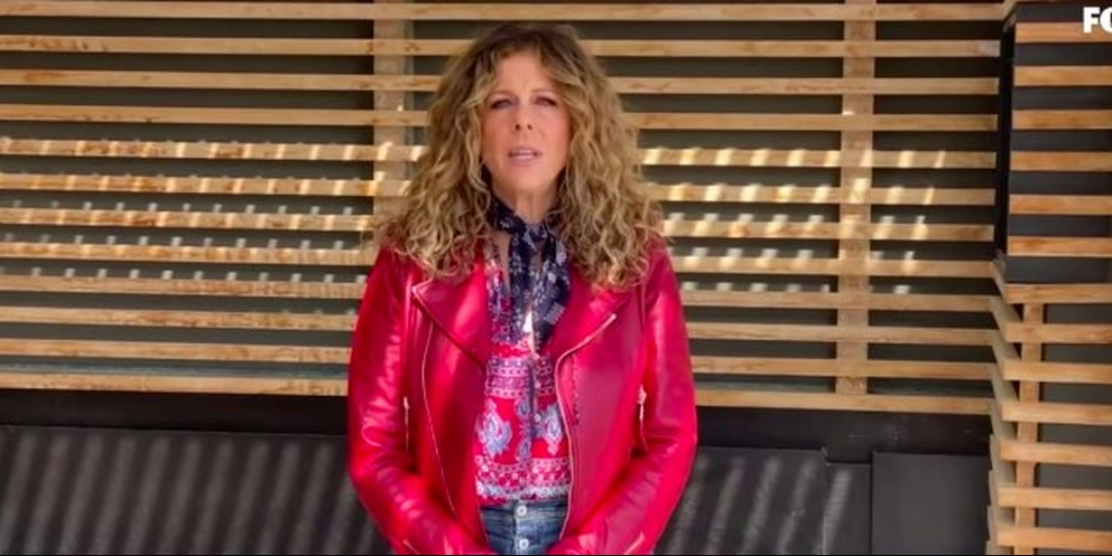 VIDEO: Rita Wilson Performs the National Anthem at NASCAR's iRacing Event