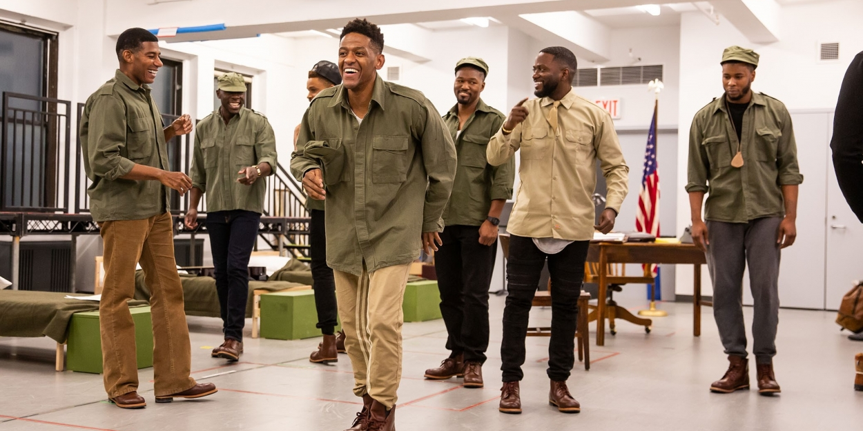 Photo Flash: Take a Look at Rehearsal Photos from Roundabout's A SOLDIER'S PLAY