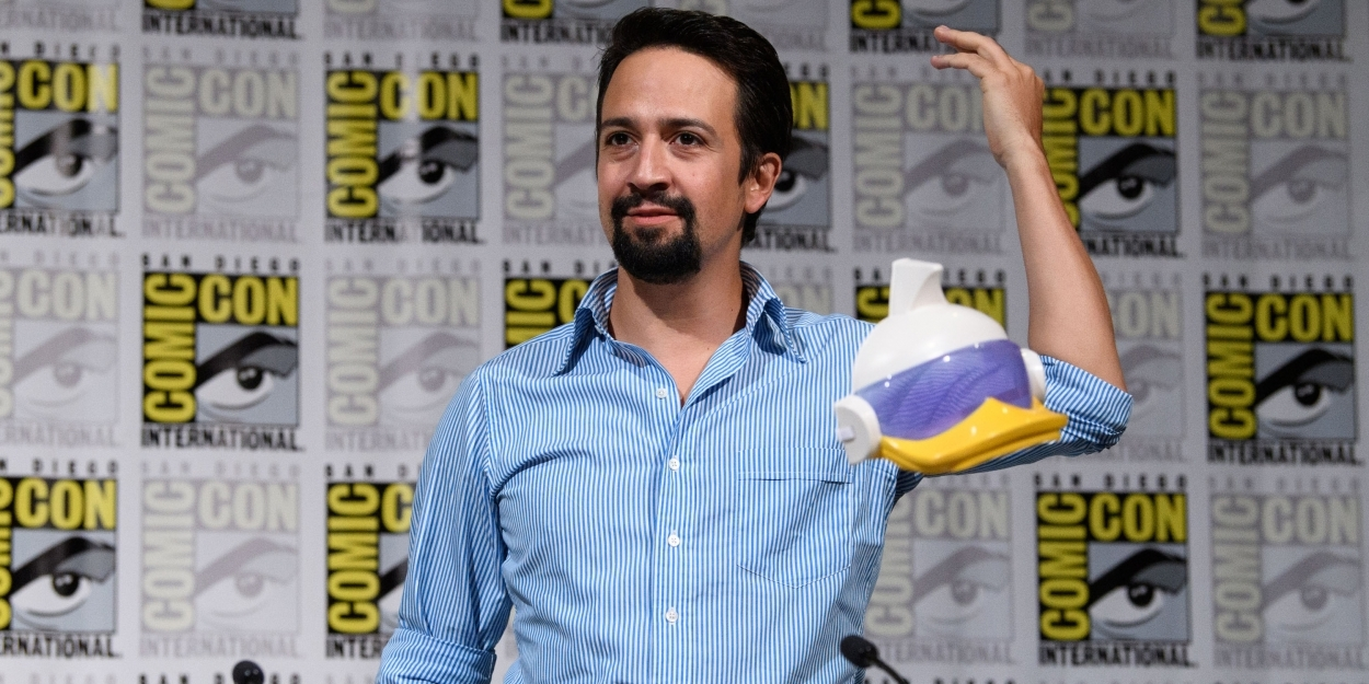 Photo Flash: Lin-Manuel Miranda Drops In On The DUCKTALES Panel At San Diego Comic Con
