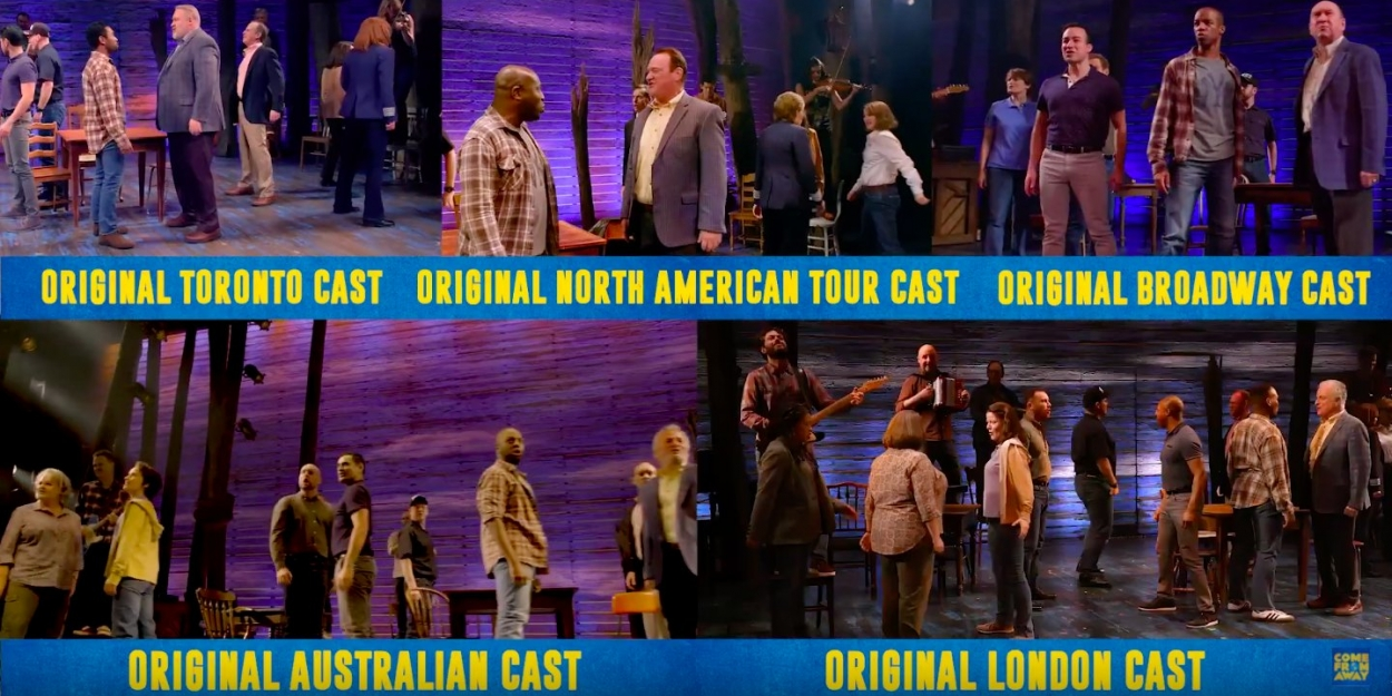 VIDEO: Five Companies of COME FROM AWAY Celebrate World Theatre Day With 'Welcome to the Rock'