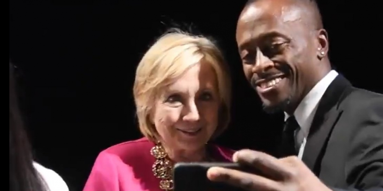 Video: Bill And Hillary Clinton Stop By AIN'T TOO PROUD On Broadway