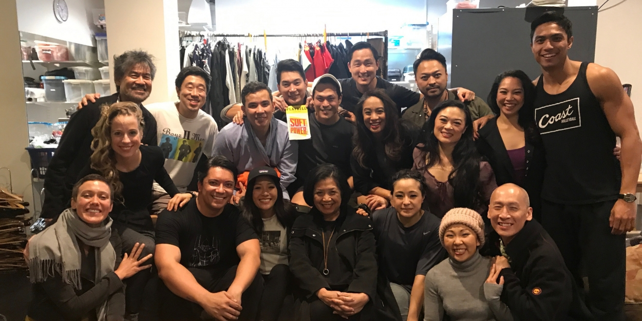 Photo Flash: Constance Wu Visits SOFT POWER