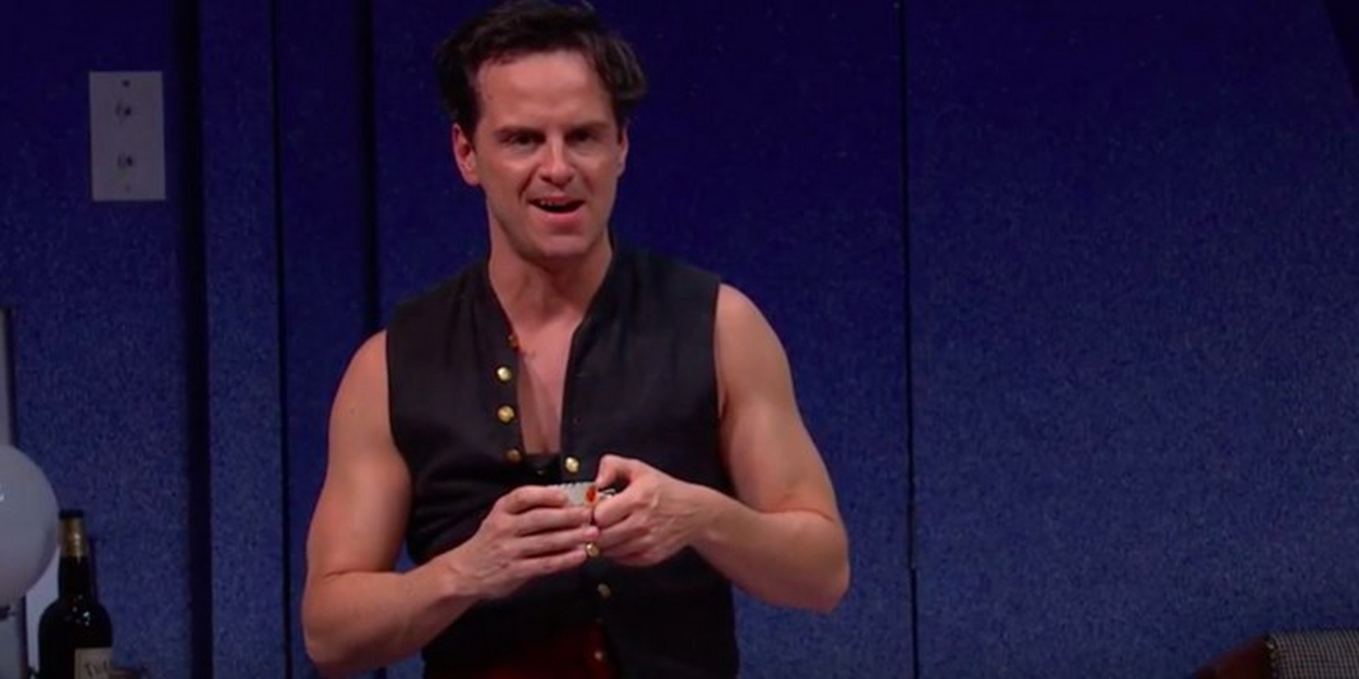 VIDEO: See Andrew Scott in the Trailer for NT Live's PRESENT LAUGHTER