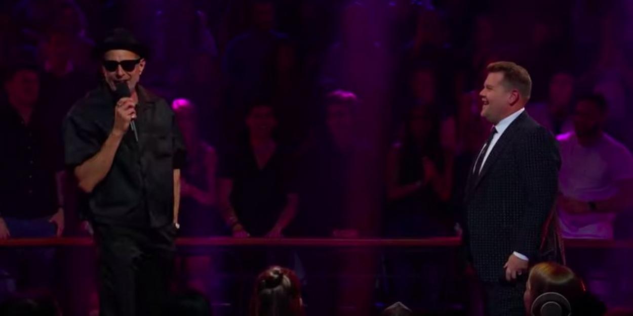 VIDEO: Jeff Goldblum Disses James Corden's CATS Trailer Appearance During a Rap Battle