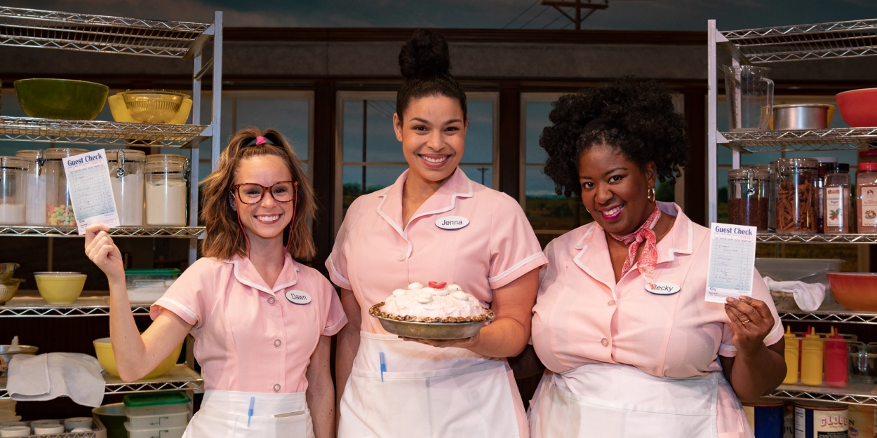 Photo Coverage: WAITRESS Leading Ladies Look Pretty in Pink for Breast Cancer Awareness Month