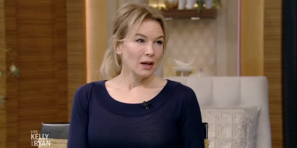 VIDEO: Renee Zellweger Talks About How She Prepared for the Role of Judy Garland on LIVE WITH KELLY AND RYAN!