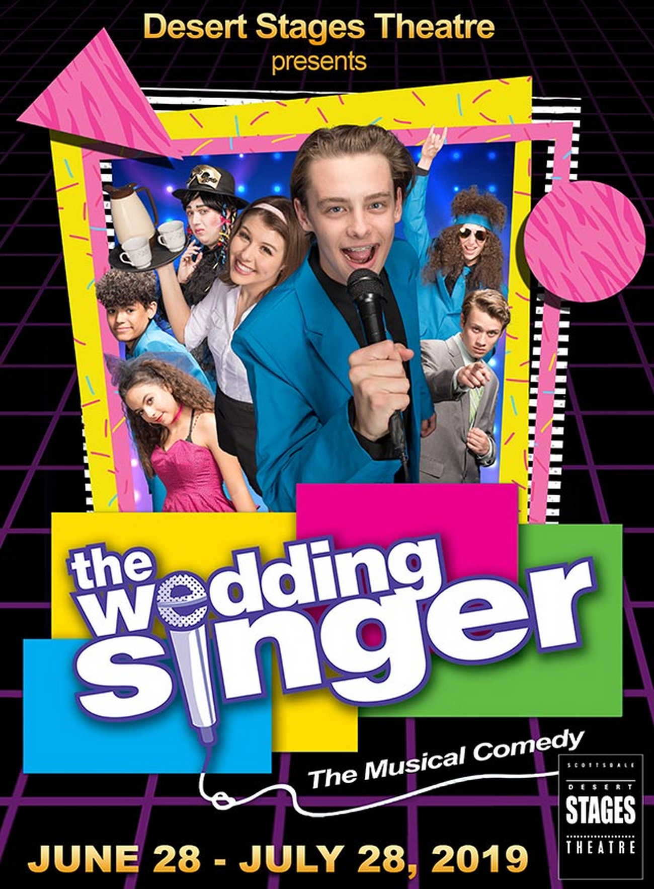 BWW Review: THE WEDDING SINGER at DESERT STAGES THEATRE Parties Like It's 1986