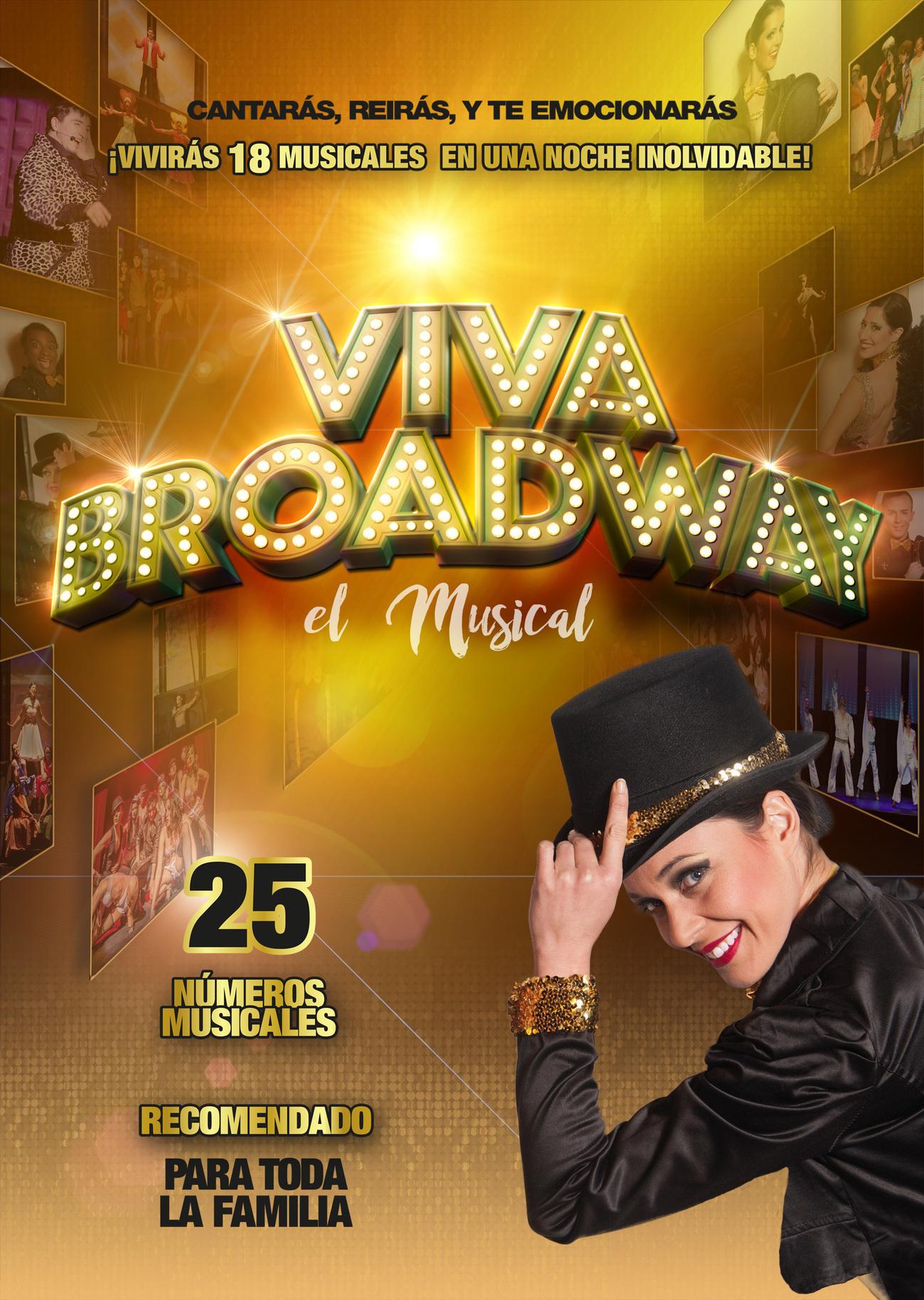 VIVA BROADWAY llega al Teatro Calderón